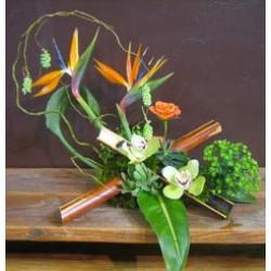 Elegant Flowers Arrangement Carry Art Life