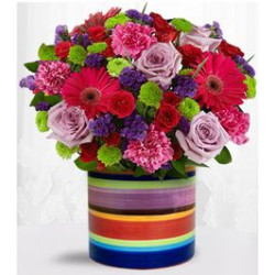 Eye Catching Classic Birthday Flowers