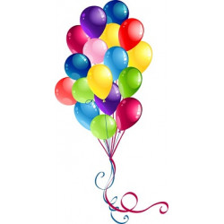 Various Uses of Different Colorful Balloons
