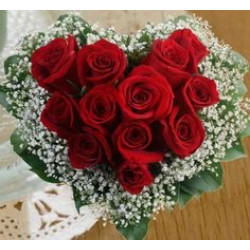 Express The Feelings of Your Heart by presenting red roses