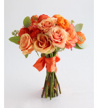 Send Peach Flowers UK