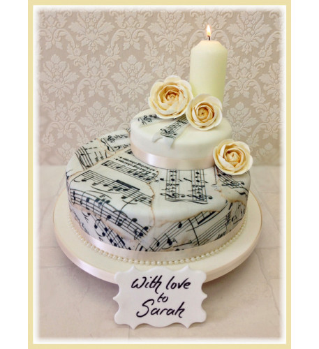 Birthday Song Luxury Cake